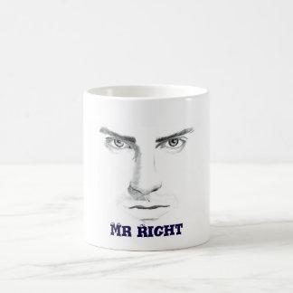 Mr right coffee mug
