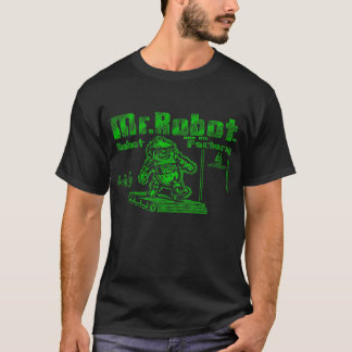 Mr. Robot and His Robot Factory T-Shirt