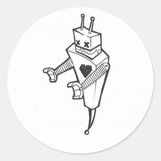 Mr Robotix Sticker