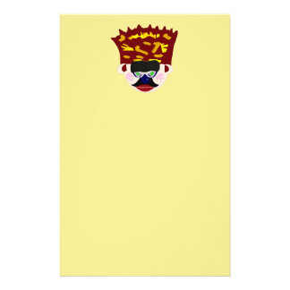 Mr. Rudy Man's Crown Face Stationery
