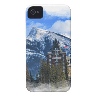 Mr Rundle and Hotel, Banff, Alta, Canada Case-Mate iPhone 4 Cases