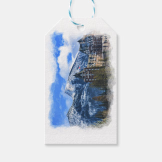 Mr Rundle and Hotel, Banff, Alta, Canada Gift Tags