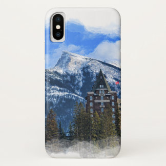 Mr Rundle and Hotel, Banff, Alta, Canada iPhone X Case