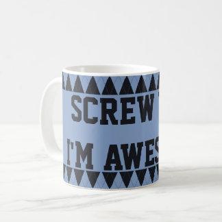 Mr. Sassy Custom Argyle Mugs 08