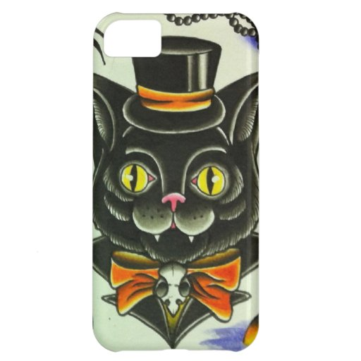 Mr. Scary Cat Cover For iPhone 5C
