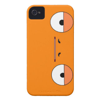 mr.serious orange iphone 4 case