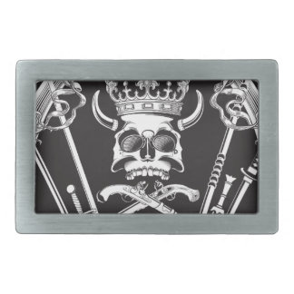 Mr Skull Belt Buckle