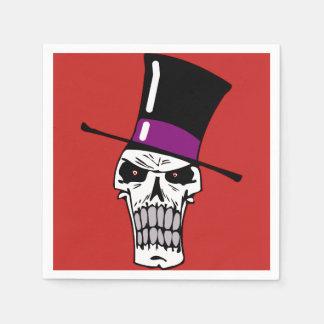 Mr Skull Disposable Napkins