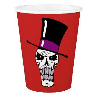 Mr Skull Paper Cup