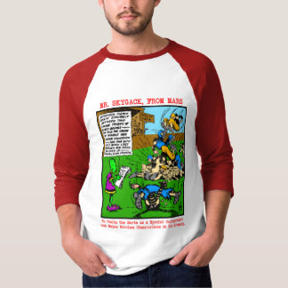 Mr. Skygack Observes a Football Game T-Shirt