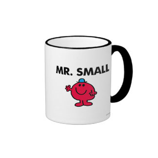 Mr. Small Waving Hello Ringer Mug
