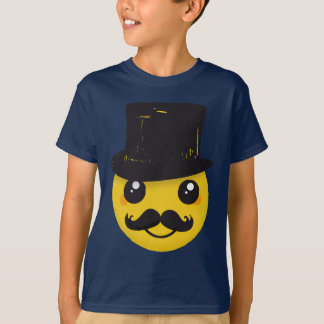 Mr Smiley Mustache T-Shirt