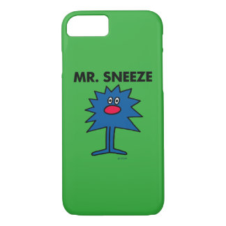 Mr. Sneeze   Jagged-Edged Body iPhone 8/7 Case