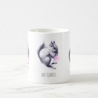 Mr Squirrel | custom name Coffee Mug