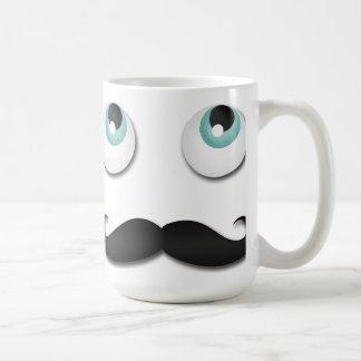 Mr stache coffee mug