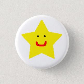 Mr Star 1 Inch Round Button