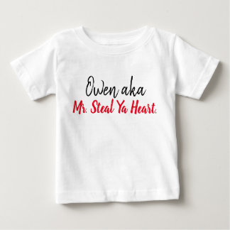 Mr. Steal Ya Heart Personalized Shirt