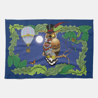 Mr.Steam at Night Kitchen Towel