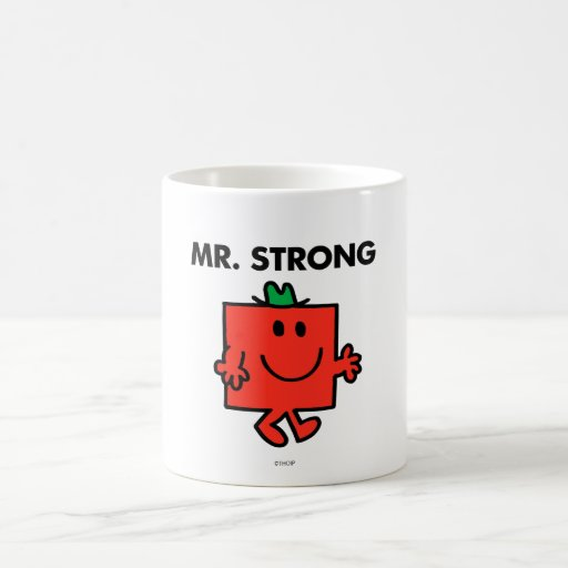 Mr Strong Classic 1 Mugs