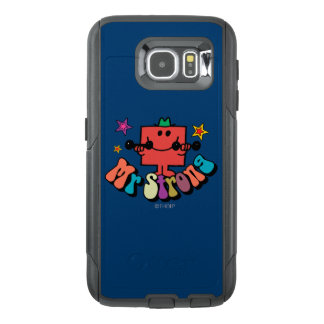 Mr. Strong | Colorful Lettering & Stars OtterBox Samsung Galaxy S6 Case