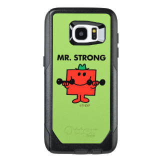 Mr. Strong | Lifting Weights OtterBox Samsung Galaxy S7 Edge Case