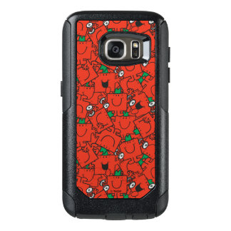 Mr Strong | Lifting Weights Red & Green Pattern OtterBox Samsung Galaxy S7 Case