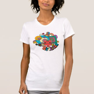 Mr. Strong | Psychedelic Swirls, Stars, & Flowers Tshirts