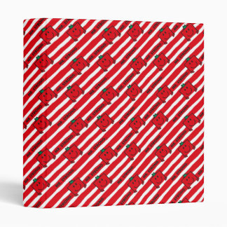 Mr Strong | Red Stripes Pattern Binders