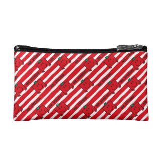 Mr Strong | Red Stripes Pattern Cosmetic Bag