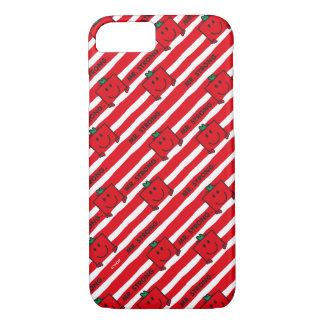 Mr Strong   Red Stripes Pattern iPhone 7 Case