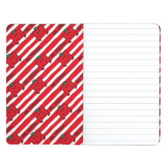 Mr Strong | Red Stripes Pattern Journal