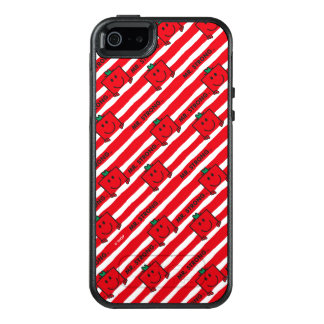 Mr Strong | Red Stripes Pattern OtterBox iPhone 5/5s/SE Case