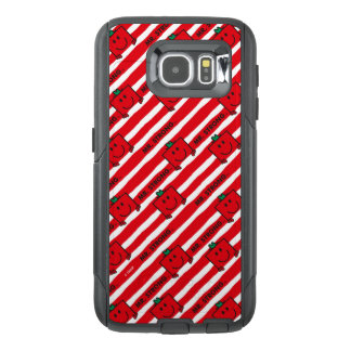 Mr Strong | Red Stripes Pattern OtterBox Samsung Galaxy S6 Case