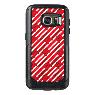 Mr Strong   Red Stripes Pattern OtterBox Samsung Galaxy S7 Case