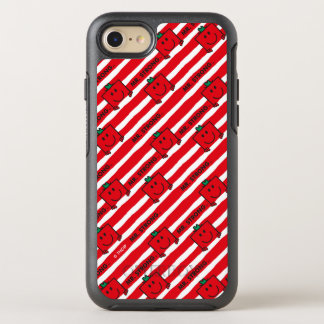 Mr Strong   Red Stripes Pattern OtterBox Symmetry iPhone 7 Case