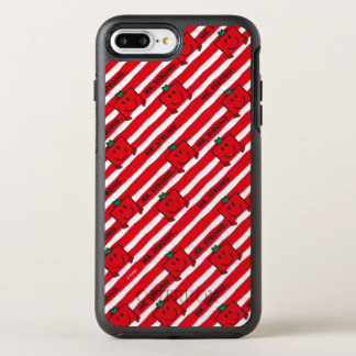Mr Strong | Red Stripes Pattern OtterBox Symmetry iPhone 8 Plus/7 Plus Case