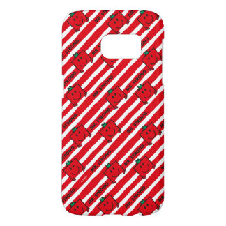 Mr Strong | Red Stripes Pattern Samsung Galaxy S7 Case