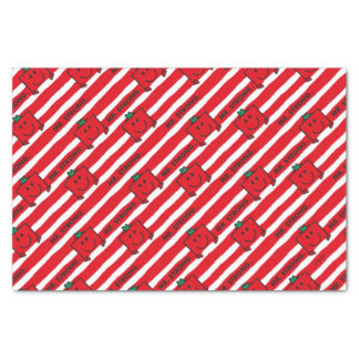 Mr Strong | Red Stripes Pattern Tissue Paper