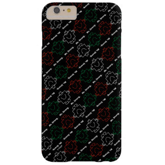 Mr Strong | Red, White & Green Pattern Barely There iPhone 6 Plus Case
