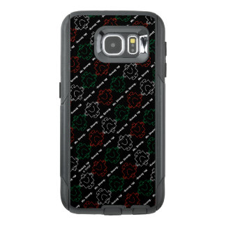 Mr Strong | Red, White & Green Pattern OtterBox Samsung Galaxy S6 Case