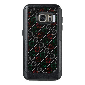 Mr Strong | Red, White & Green Pattern OtterBox Samsung Galaxy S7 Case