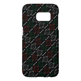 Mr Strong | Red, White & Green Pattern Samsung Galaxy S7 Case