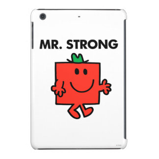 Mr. Strong Waving Hello iPad Mini Cases