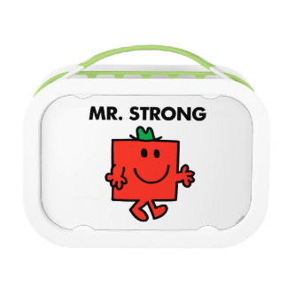 Mr. Strong Waving Hello Lunch Box
