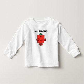 Mr. Strong Waving Hello Toddler T-shirt