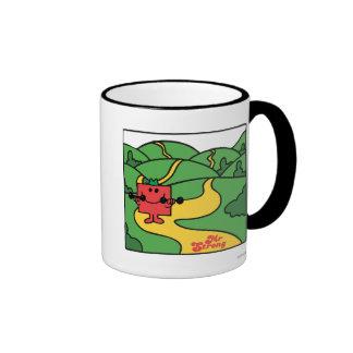 Mr. Strong | Woodland Workout Ringer Mug