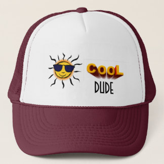 Mr. Sunshine, Cool Dude Trucker Hat