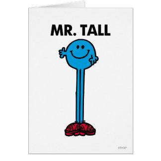 Mr. Tall   Standing Tall Card
