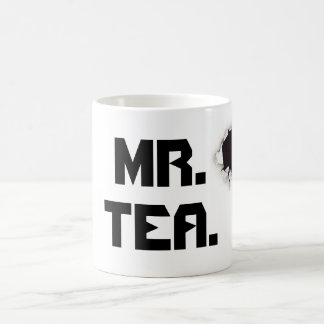 Mr Tea Classic White Coffee Mug
