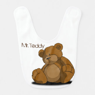 Mr. Teddy Baby Bibs